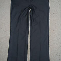 Express Designer Charcoal Black Gray Dress Trouser Career Pants Size 2 Womens Photo