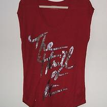 Express Dolman Graphic Tee - Thrill of It Size M Nwt Photo