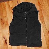 Express Down Filled Puffy Vest Size Small Nice Photo