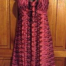 Express Dress 4 Strapless Multi Color Club Wear  Check Out My Other Listings Photo
