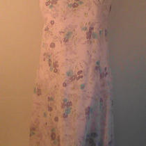 Express Dress Lavender With Floral Design Size 7/8 Photo