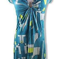 Express Dress Medium Retro Mod Print Photo