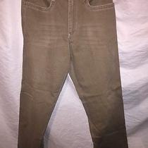 Express Dress Pants for Men Vintage Twill J Pocket 33 X 34 Khaki Brown Comfy Photo