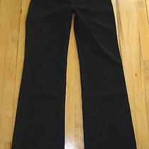Express Dress Pants/slacks/trousers 0r Sz 0 Reg  Editor Blackstretchstriped Photo