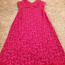 Express Dress Red Sz 1/2 Photo