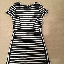 Express Dress Size 2 Blue and White Photo