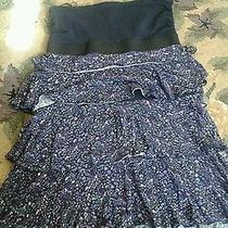 Express Dress Size Xs Strapless Color Blue Photo
