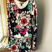 Express Dress Small 4 Designer Floral Beautiful and Sexy Dress Photo