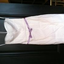 Express Dress White Strapless Sz 3/4 Photo