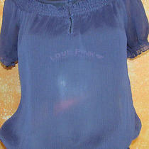 Express Dressy Top  Express Sheer Top Blouse Xs Photo