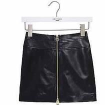 Express Edition Side Laced Leather Mini skirtnwtsz.10 orig.98 Limited Edition Photo