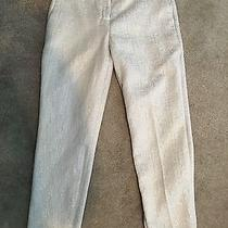 Express Editor Beige Shimmer Pant Size 2 Photo