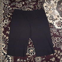 Express Editor Black City Shorts Size 0 Photo