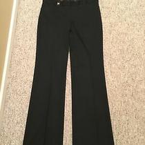 Express Editor Black Pants Size 8l or 8 Long Photo
