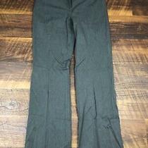 Express Editor Charcoal Gray Wide Leg Size 4 Career Women's Dress Pants Photo
