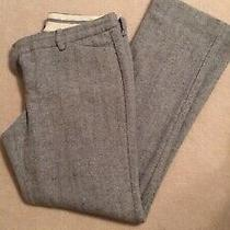 Express Editor Gray Wool Pants Size 8 Photo