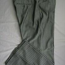 Express Editor Original Low Rise Flare Trouser Pants. Herringbone Size 12. Nwt Photo