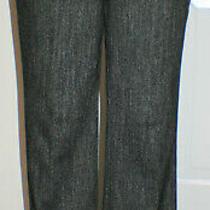 Express Editor Pant Gray Herringbone Size 12 Nwot Photo