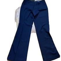 Express Editor Pants Size 8 Blue Photo