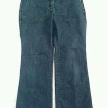 Express Editor Trousers Jeans Dress Pants Dark Wash 2 Short Career Inseam 27