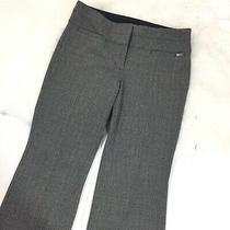 Express Editor Women's Plaid Wide Leg Slacks Corporate Career Pants Size 4r Photo