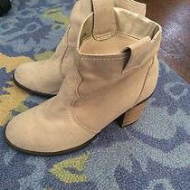Express Faux Suede Booties Photo