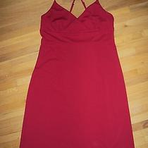Express Fire Engine Red Cocktail Dress Prom Wedding Bridesmaid - Size 11/12 Photo