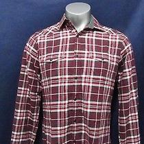 Express Fitted Button Shirt Mens M Photo