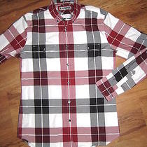 Express Fitted Dress Shirt (Small) Red Photo
