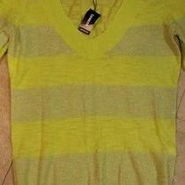 Express Fitted v Neck Pullover Sweater Size S Photo