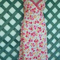 Express Flora Surplice Dress 13-14j Casual Wedding Cruise Party Photo
