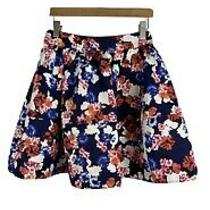 Express Floral Double Lined Skirt Photo