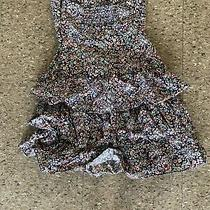 Express Floral Pattern Dress Size Xs Photo