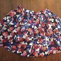 Express Floral Skirt Nwt Size 8 Photo