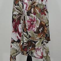 Express Floral Skirt Size M Photo