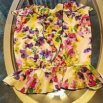 Express Floral Tank Size Xs Photo