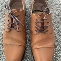 Express for Men Leather Dress Shoe Camel Size 9 Photo