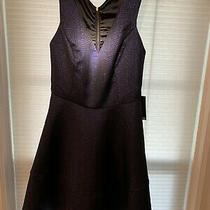 Express Formal Royal Sparkling Blue Dress Razor Back Size 8 Photo