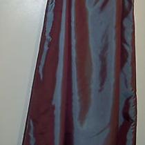 Express Formal Taffeta Iridescent Purple/blue Long a-Line Skirt Sz 1/2 Photo