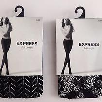 Express Full Length Tights Size S/m Pack of 2 Photo