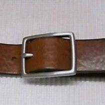 Express Genuine Italian Leather Belt Waist Size 32 Photo