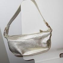 Express Gold Leather Purse Photo