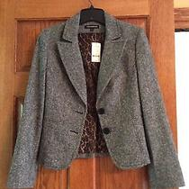Express Gray and Black Suit Jacket (Size2) Photo