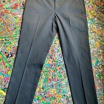 Express Gray Extra Slim Innovator Stretch Cotton Dress Pant Size 32/32 Photo