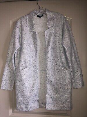 Express Gray Jacket/blazer NWOT size XS Photo