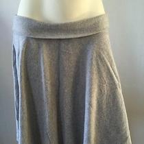 Express Gray Knit Skirt Sz S Photo