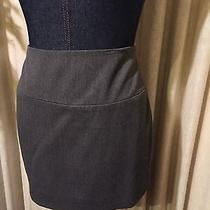 Express Gray Mini Skirt With Tags Size 2 Photo