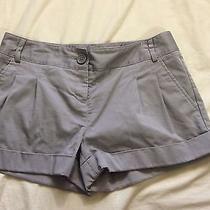 Express Gray Shorts Size 2 Cuff Photo