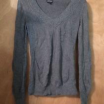 Express Gray Sweater Large Photo