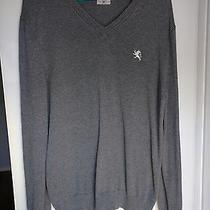 Express Gray Sweater Men's M Photo